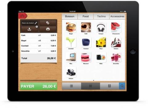 TacTill caisse iPad